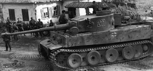 тигр танк фото